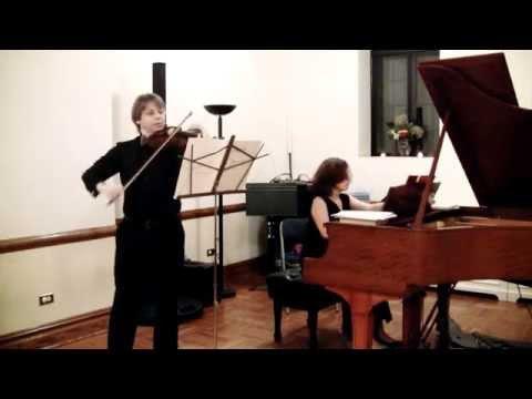 A. Vivaldi - Sonata for Violin and Piano in D Major