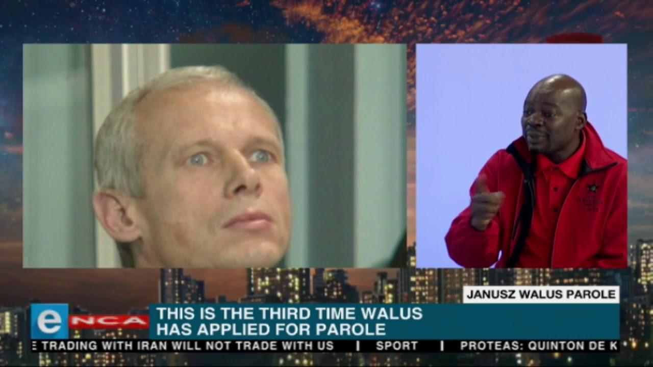 Solly Mapaila discusses Chris Hani's killer Janusz Walus's parole.
