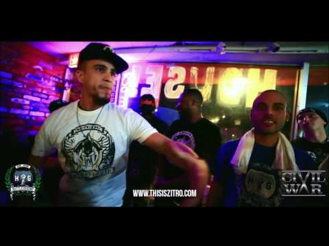 Too Major vs Blaqwood Craz | Rap Grid & Homegrown Battleground | Rap Battle