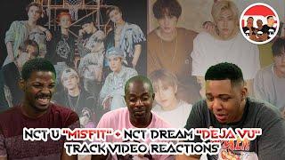 "NCT U ""Misfit"" + NCT Dream ""Deja Vu"" Track Video Reactions"