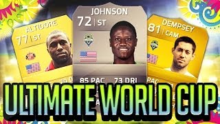 FIFA 14 - ULTIMATE WORLD CUP USA VS ITALY - FIFA 14 ULTIMATE TEAM