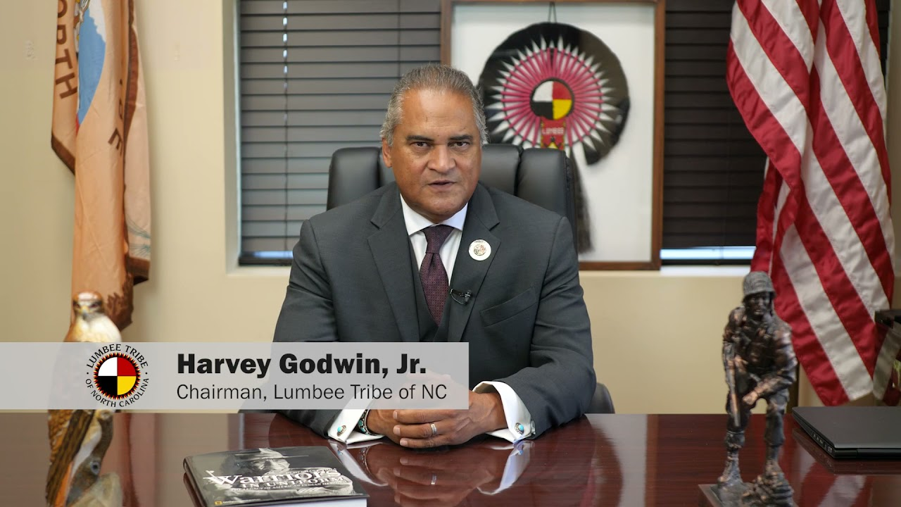 Indigenous Peoples' Day Proclamation by Lumbee Tribal Chairman Harvey Godwin, Jr.