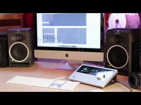 Apogee Quartet - Recording studio control center for Mac