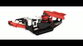 sandvik qh331 hydrocone 3d features animation