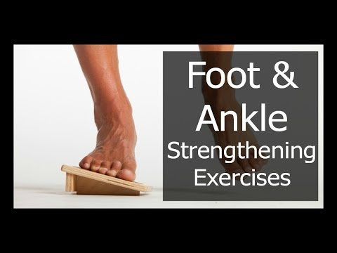 INCREASE FOOT AND ANKLE STRENGTH FOR RUNNING - 3 EXERCISES