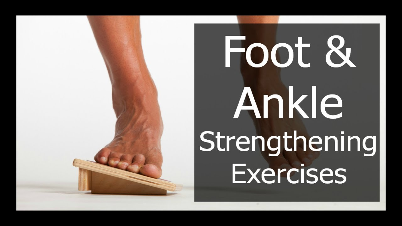INCREASE FOOT AND ANKLE STRENGTH FOR RUNNING - 3 EXERCISES ...
