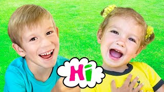 Children Song with Tim and Essy - Can you say Hi?