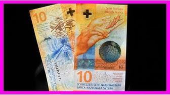 Le billet de 10 francs suisses désigné le plus beau du monde