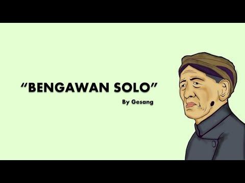 Gesang - Bengawan Solo Lyric