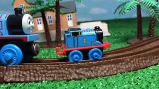 Thomas and Friends Toy Trains Learn Size with James, Percy, Hiro, Thomas, Spencer