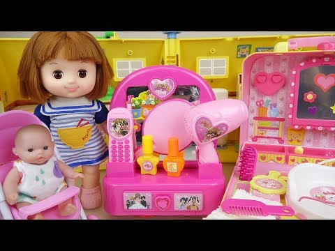 Thumbnail: Baby Doli and beauty hair shop toys baby doll play