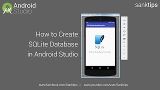 How to Create SQLite Database in Android Studio | Sanktips