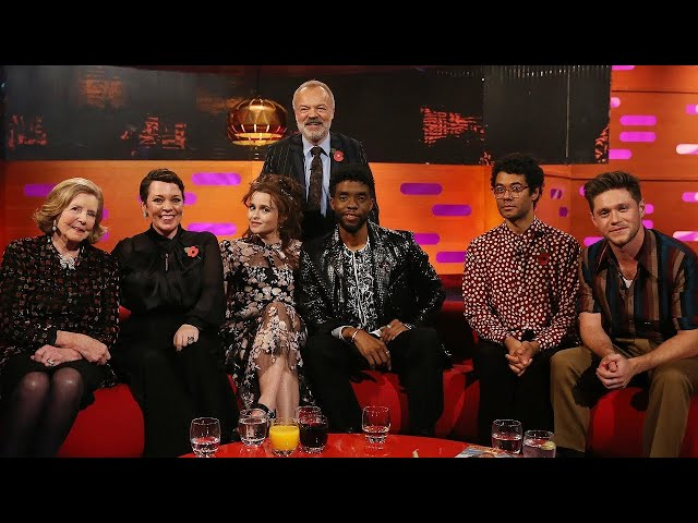 The Graham Norton Show S26E07 - Olivia, Helena Carter, Chadwick Boseman, Richard Ayoade, Niall Horan