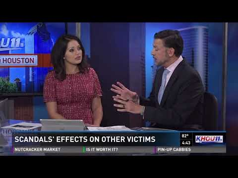 Sexual harassment and assault scandals' effect on other victims
