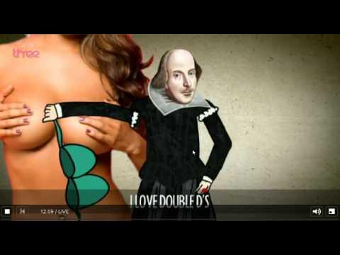 Russell howard: Shakespeare rap HD