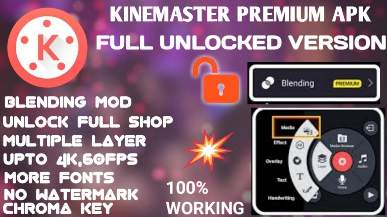 kinemaster pro mod apk | no watermark | latest version 2019 | kinemaster  premium apk |