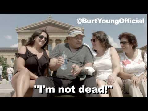 """Burt Young in Philly! """"Paulie's Not Dead!"""""""