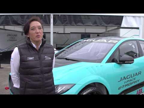 Jaguar I-PACE eTROPHY Debut - Marion Barnaby, Jaguar I-PACE eTROPHY Championship Manager