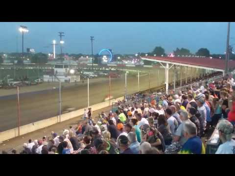 USAC Sprint Car Feature Part 2/3  Terre Haute Action Track