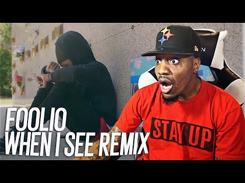 """THIS THE MOST DISRESPECTFUL VIDEO I EVER SEEN! Foolio """"When I See"""" Remix (Yungeen Ace Diss) REACTION"""