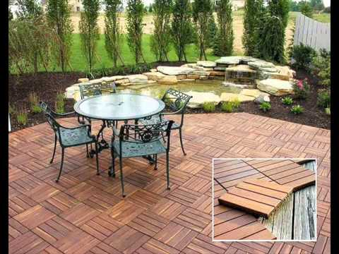 interlocking deck tiles youtube