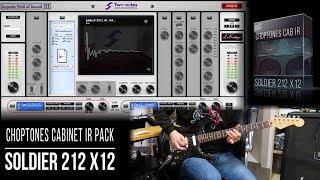 Cabinet IR | Soldier 212 X12 | Playthrough (Soldano 2x12 + Eminence X12000)