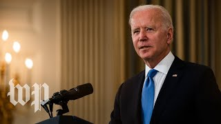 WATCH: President Biden delivers remarks on the April jobs report