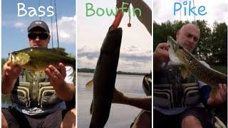 Kayak Fishing: Catching Bass, Bowfin and Pike