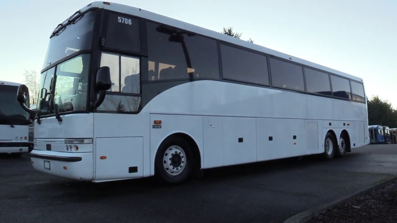 medium resolution of 2000 vanhool t2145 57 passenger coach bus c43878