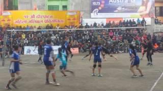 Nepali women volleyball 2017