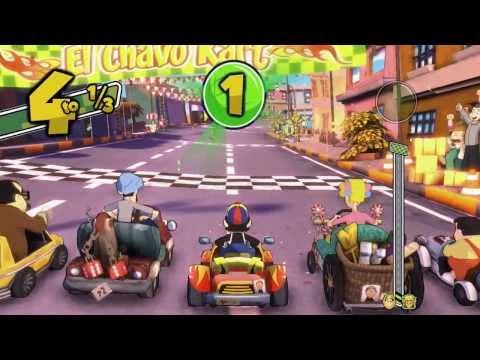 El Chavo Kart - Primera carrera