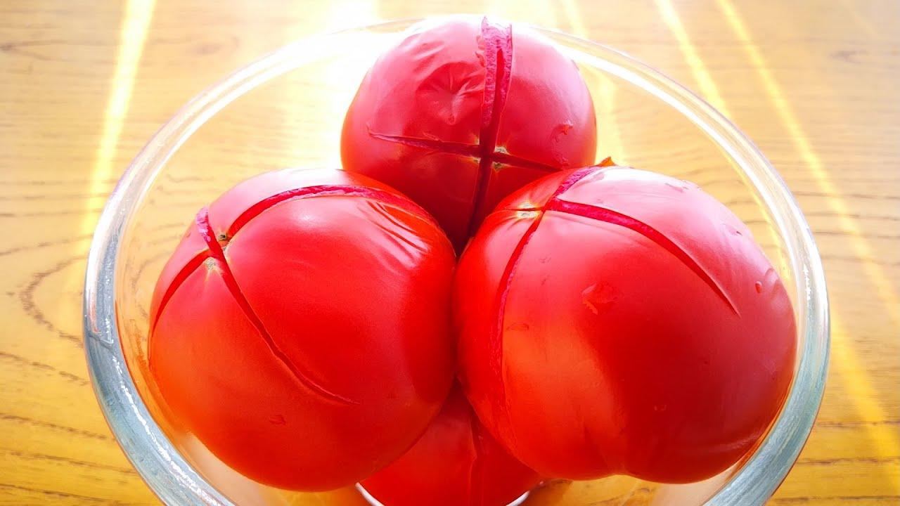 【小穎美食】西紅柿不用炒著吃了,告訴你1個新鮮吃法,5斤西紅柿都不夠吃