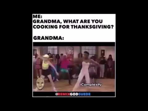 Grandma Thanksgiving Rap Song Beans Greens Potatoes Tomatoes Lyrics