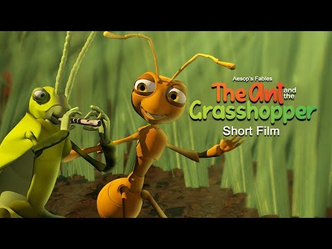 Aesop's Fables The Ant And The Grasshopper Short Film