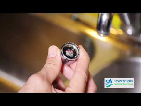 Cleaning Water Faucet Aerators