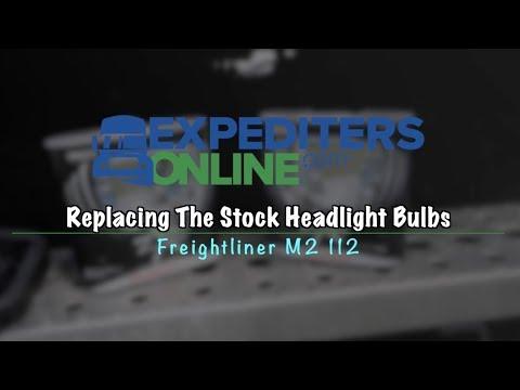 Freightliner M2 Cab light change - YouTube