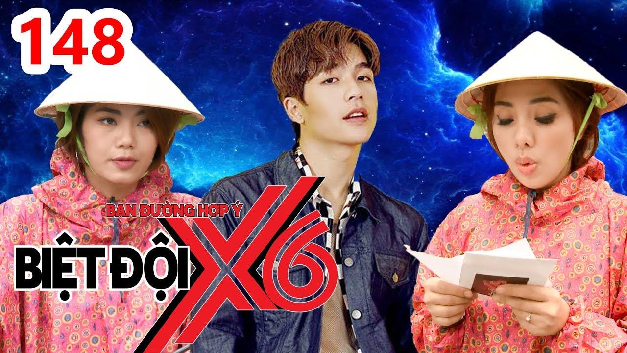BIỆT ĐỘI X6 | BDX6 #148 |Hoa tỷ Miko mặc áo mưa đạp xe giữa trời nắng vì 'thua' trai đẹp Yoon Trần