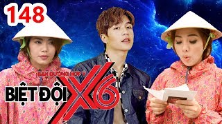 X6 SQUAD| #148|Miko rides a bicycle while wearing a raincoat in sunny day because of Yoon Tran