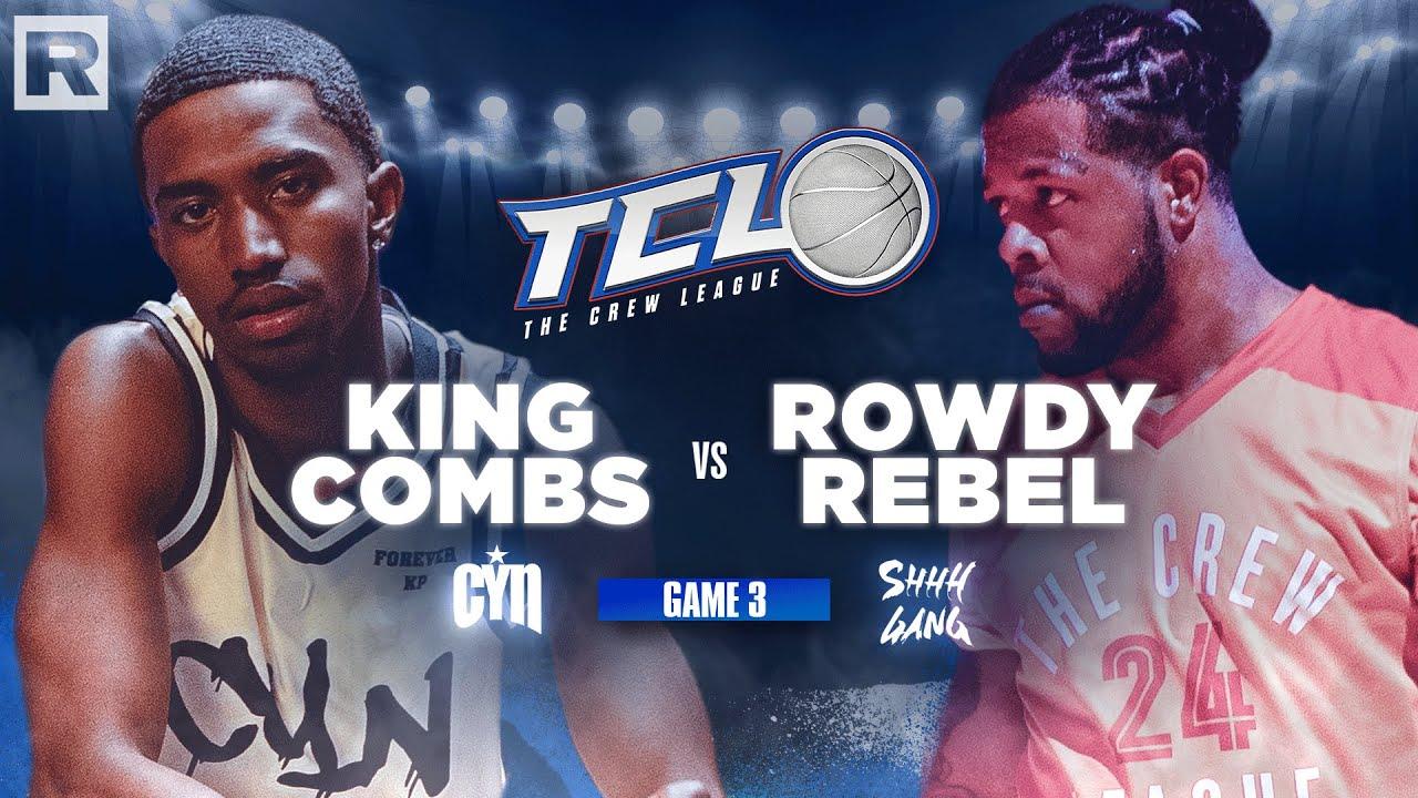 Rowdy Rebel vs. King Combs - The Crew League Season 2 (Episode 3)