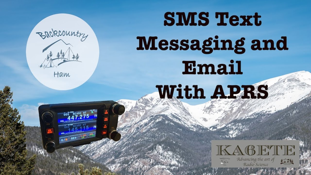 Download APRS: SMS and Email Messaging