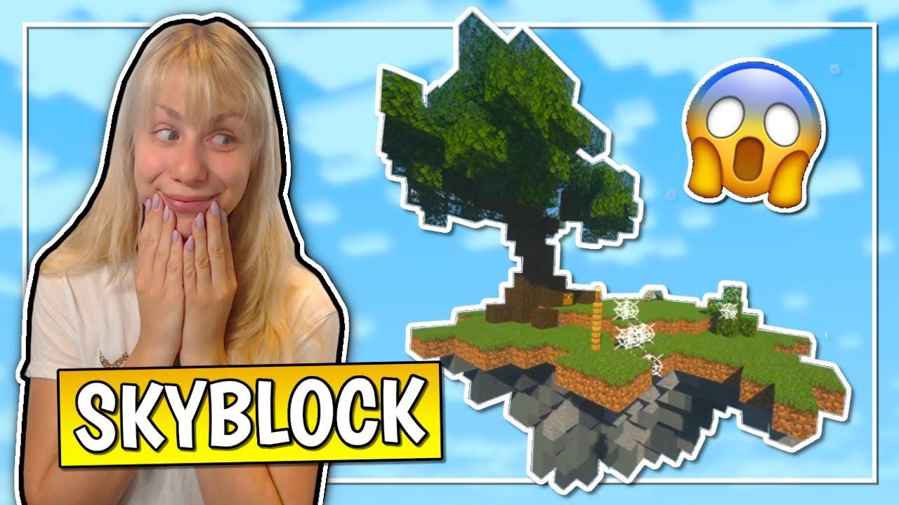Jeg prøver: Skyblock i Minecraft