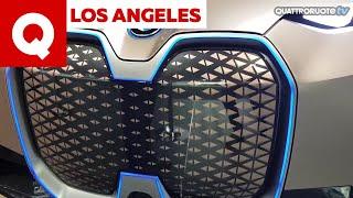 BMW Vision iNext: eccola al Salone di Los Angeles