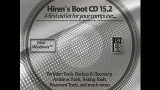 Descargar Hirens BootCD versión 15.2