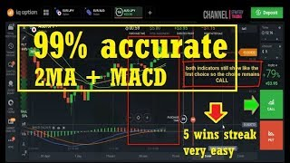 NEW TRICK - Combination of 3 indicators is 99% very accurate - iq option strategy