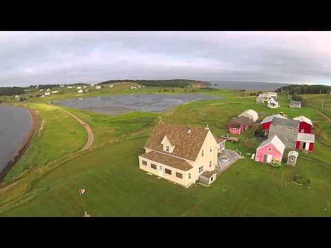 Port Hood Island - Aerial Tour