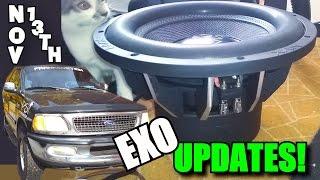EXO Audio Updates: Reconing NVX Subwoofers | DUAL 0 Gauge Toolmaker Input Adapters & CRESCENDO Amps