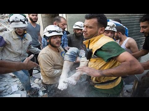 Syrian White Helmets' Race for Rescue - and Nobel Peace Prize?
