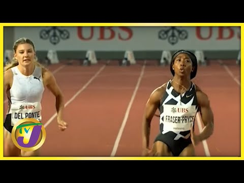 Fraser-Pryce Ends 2021 Season with Meet Record in Switzerland - Sept 14 2021