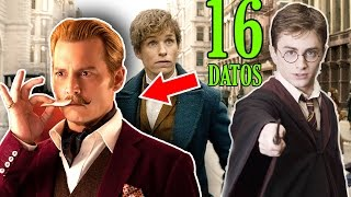 """16 Curiosidades que Debes saber de """"Fantastic Beast and Where to Find Them"""""""