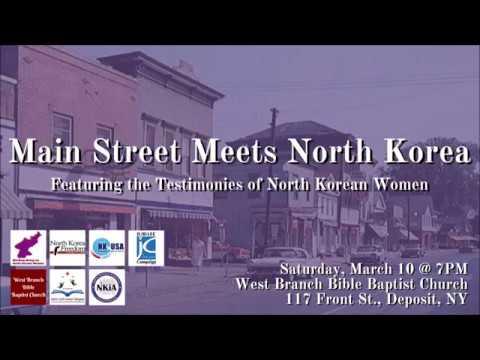 Main Street Meets North Korea